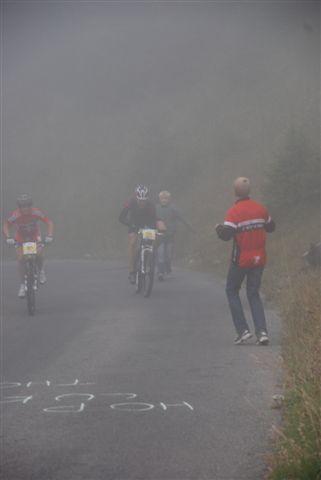 Nebel und Kälte auf dem Glaubenberg